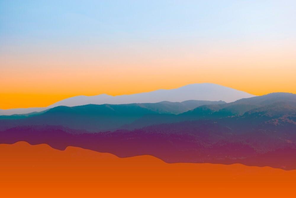 Sunset in Rhodes by fokafoka
