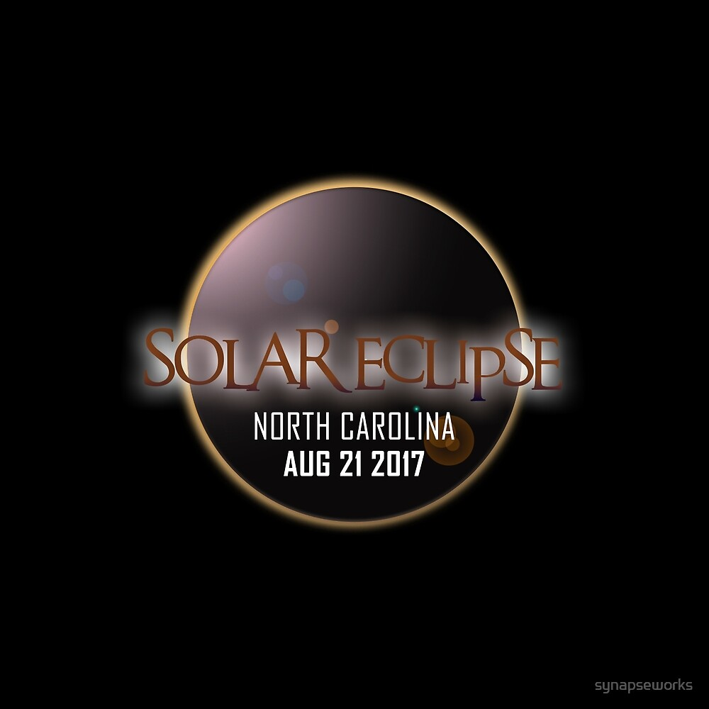 America´s Eclipse 2017 - North Carolina by synapseworks