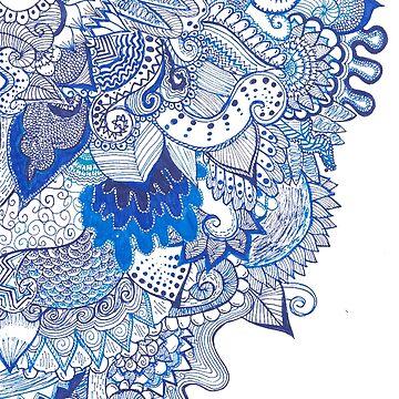BLUE. by Cateateate