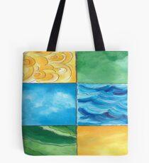 Land, Sea, Sun and lots of Summer Fun Tote Bag