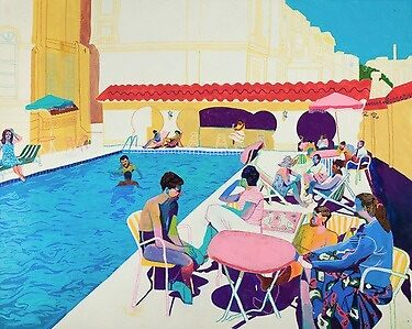Summer Contemporary art by lydja