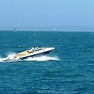 Fast Spin on Port Phillip Bay, Vic. Australia by EdsMum