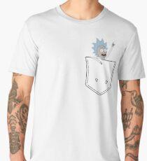 rick pocket Men's Premium T-Shirt