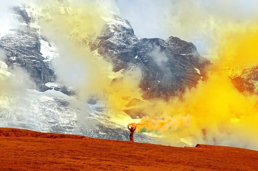 Coloring mountains by fokafoka