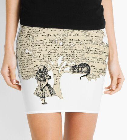 Libro de Alicia en el País de las Maravillas Minifalda