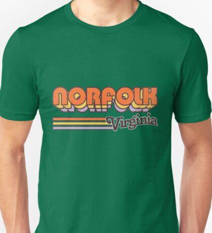 Norfolk, VA   City Stripes T-Shirt