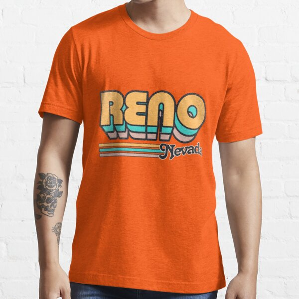 Reno, NV | City Stripes Essential T-Shirt