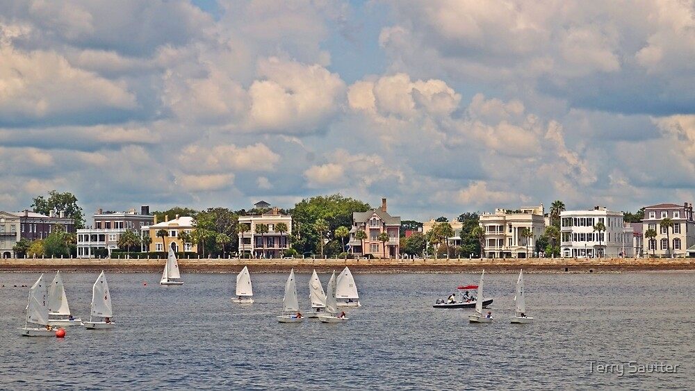 Summer in Charleston by Terry Sautter