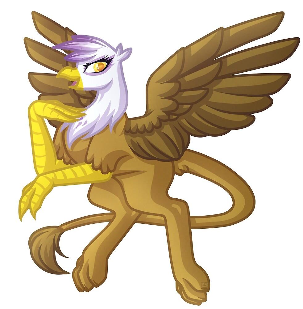 Gilda The Griffin by GrimdarkGravey
