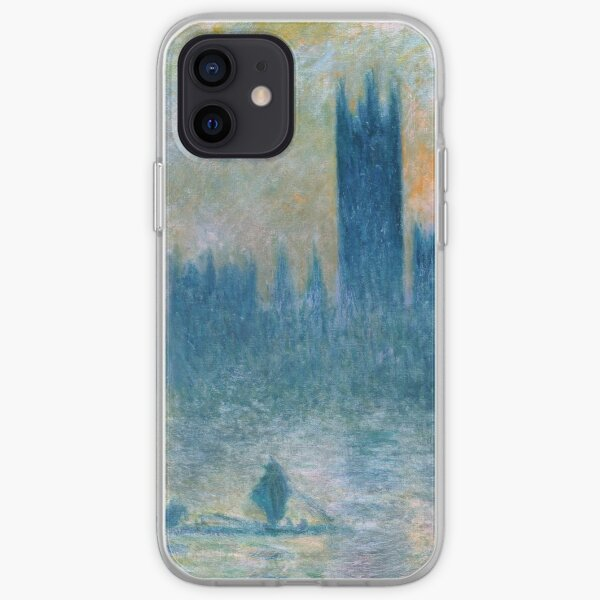 Claude Monet The Houses of Parliament iPhone Soft Case