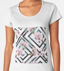 Cherry Flower Women's Premium T-Shirt