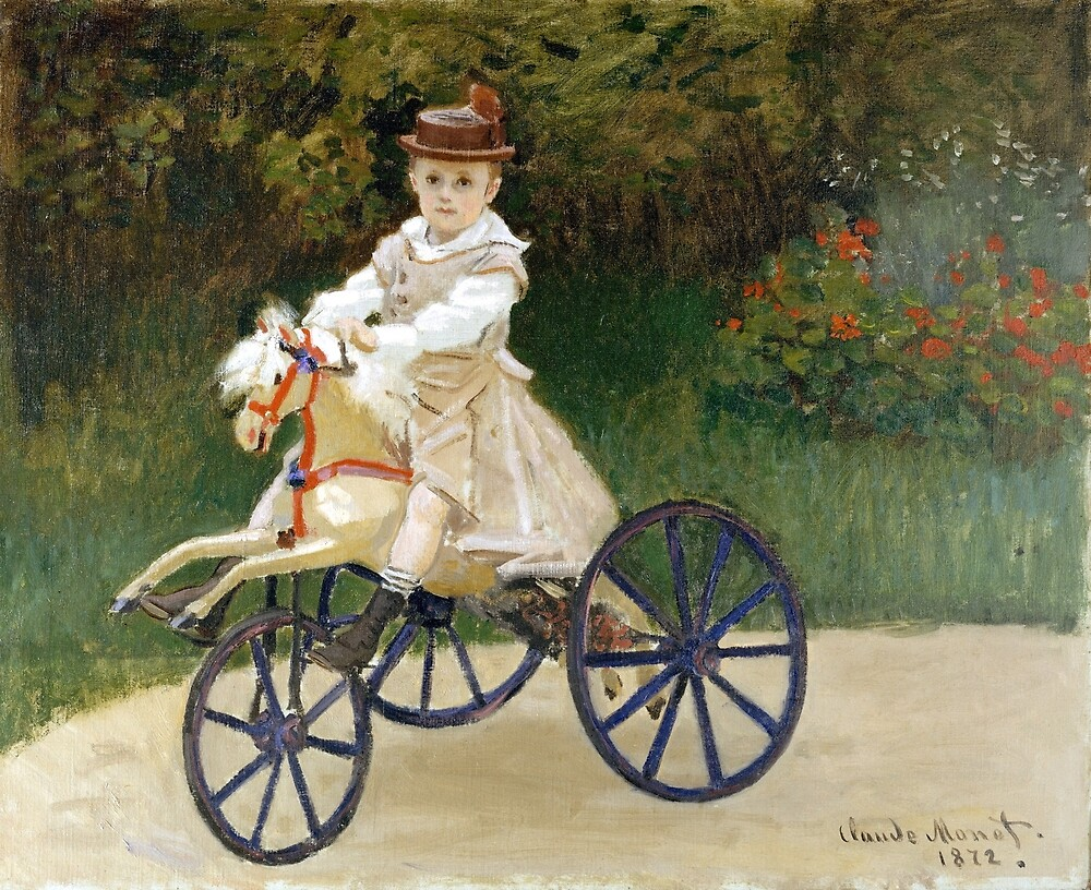Jean Monet on His Hobby Horse by pdgraphics