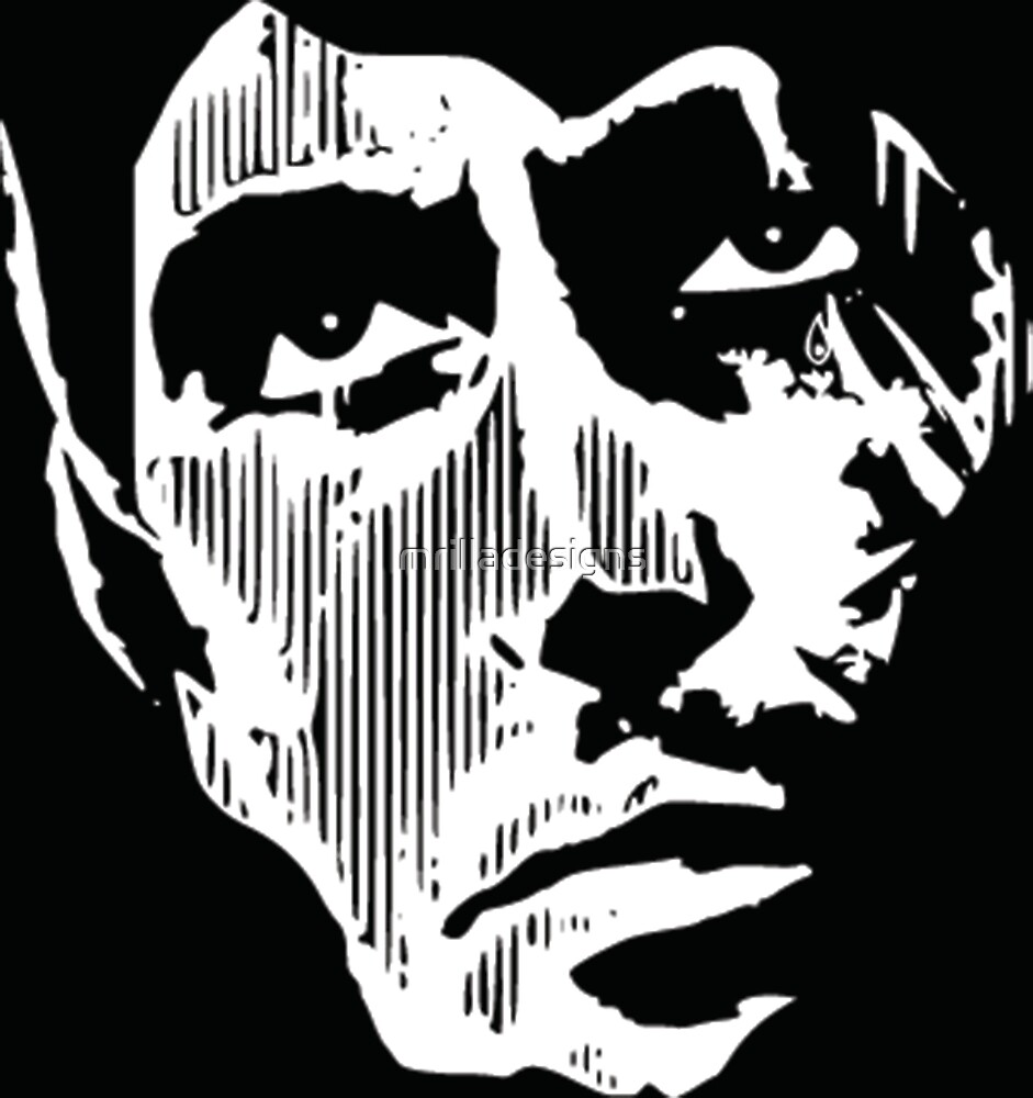 scarface print by mrilladesigns