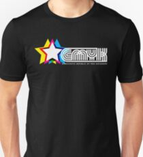 CMYK Republic (Dark) Unisex T-Shirt