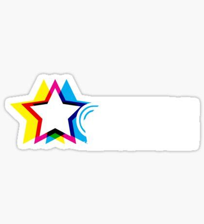 CMYK Republic (Dark) Sticker
