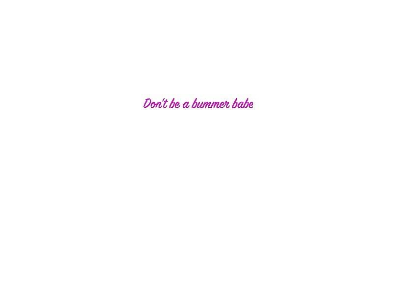 Summer Bummer Lyric by cicimarsh