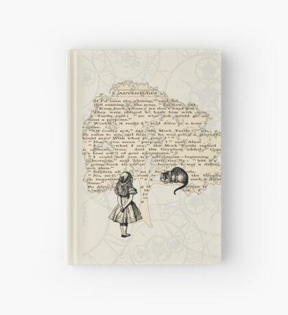 Libro de Alicia en el País de las Maravillas Cuaderno de tapa dura