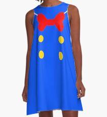 Donald Duck Suit.  A-Line Dress