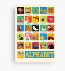 Daviz industries - Alphabet Canvas Print