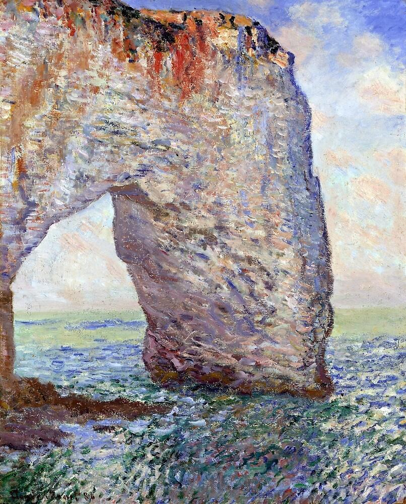 Claude Monet The Manneporte (Étretat) by pdgraphics