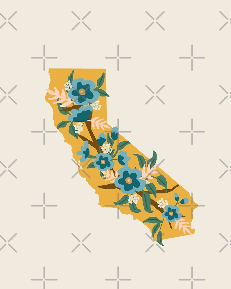 The Golden State of Wildflowers by loveperiwinkle