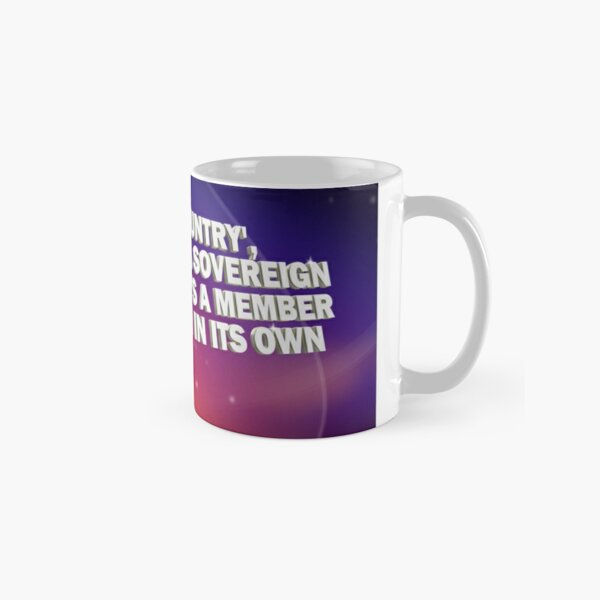 """And By Country..."" - Pointless Mug Classic Mug"