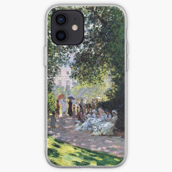 Claude Monet The Parc Monceau iPhone Soft Case