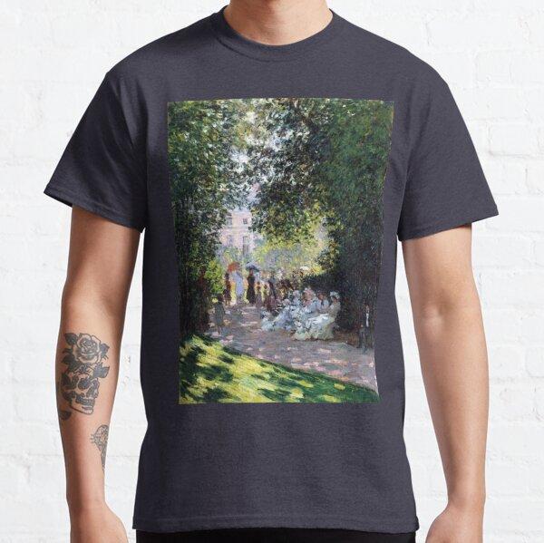 Claude Monet The Parc Monceau Classic T-Shirt