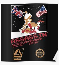 assassins creed 3 nes Poster