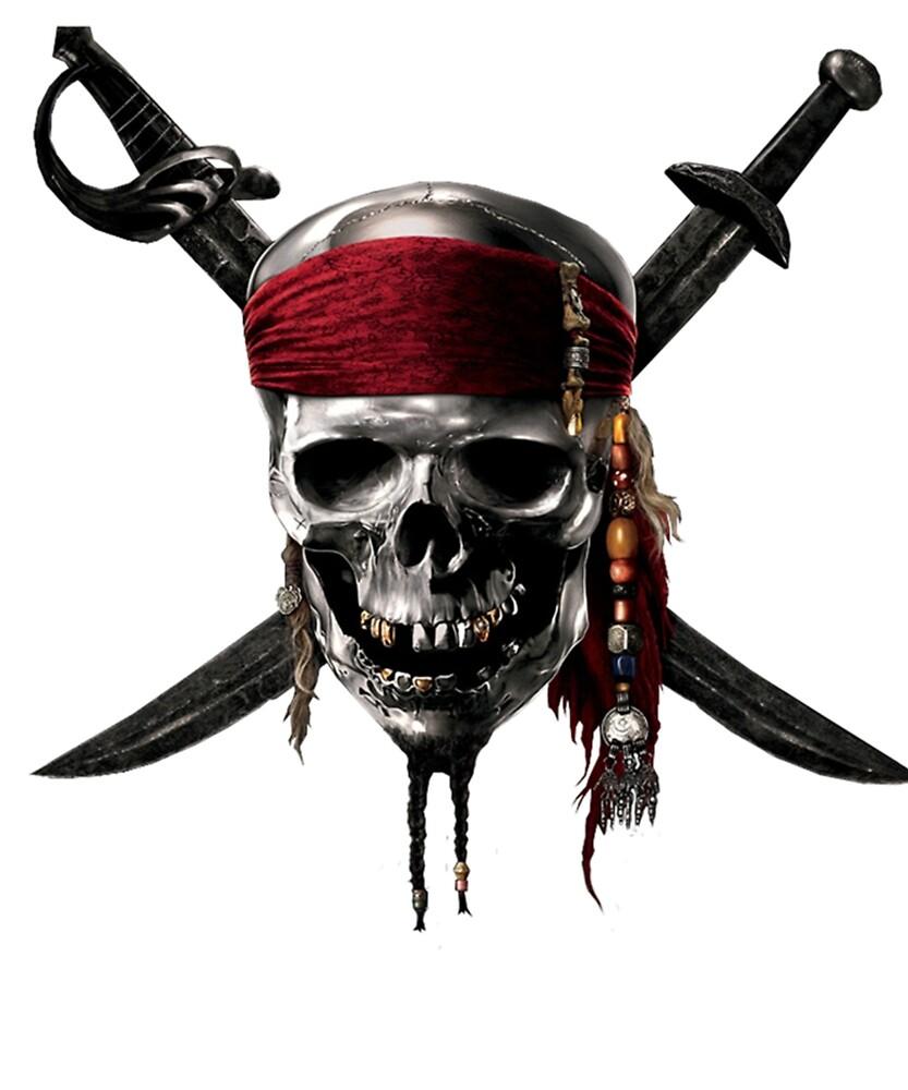 Skull Tshirt by DigitalEraSlave