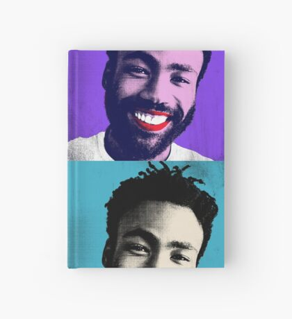 Pop Art Gambino Hardcover Journal