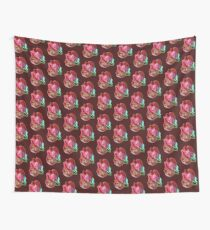 Two Red Tulips Vector  Wall Tapestry