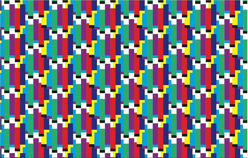 Glitch Pattern by rcrdwll