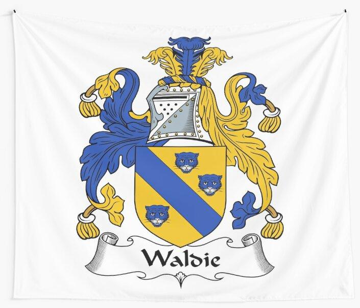 Waldy or Waldie by HaroldHeraldry