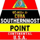 Key West Florida Buoy Sounthernmost Point USA Marker Conch Republic by MyHandmadeSigns