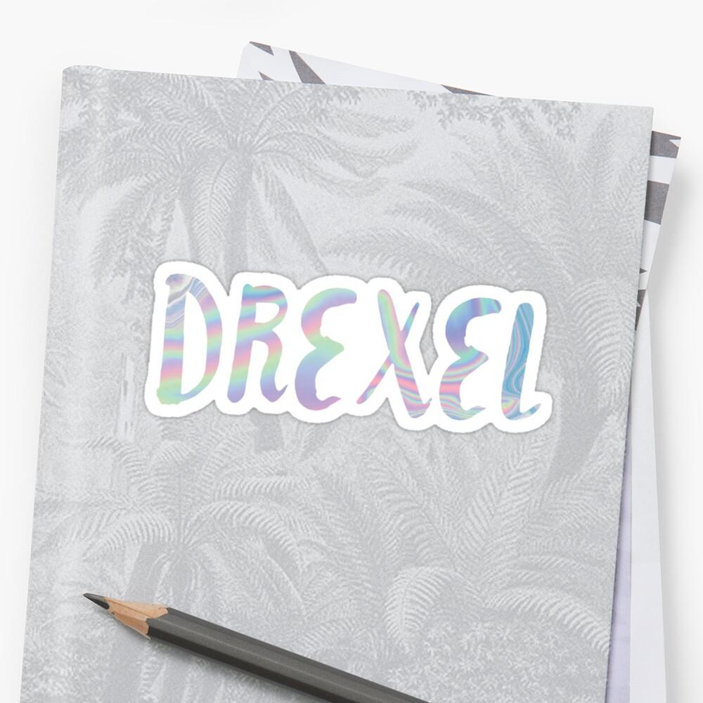 DREXEL iridescent by anna c