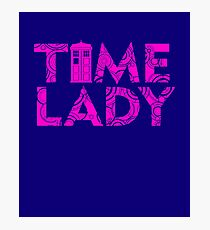 DOCTOR 13 TIME LADY MALE FEMALE TIME SYMBOL POLICE BOX TEE Photographic Print