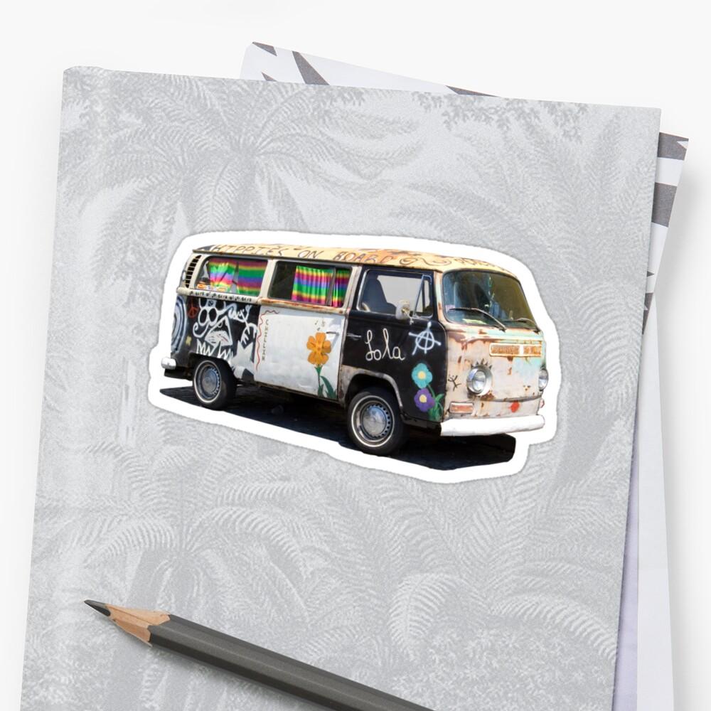 Hippie Van by Alejandro Durán Fuentes