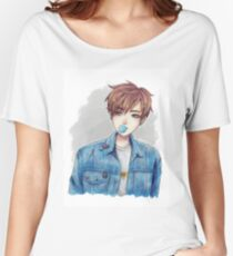 Jungkook | Chewing gum Women's Relaxed Fit T-Shirt