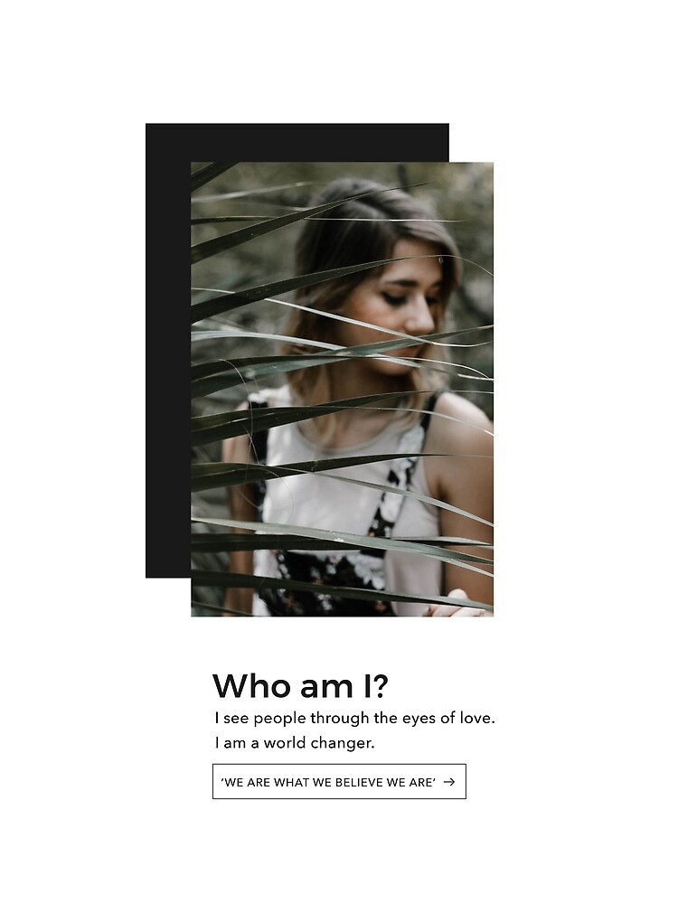 Who am I? by Zachariah  Arnold