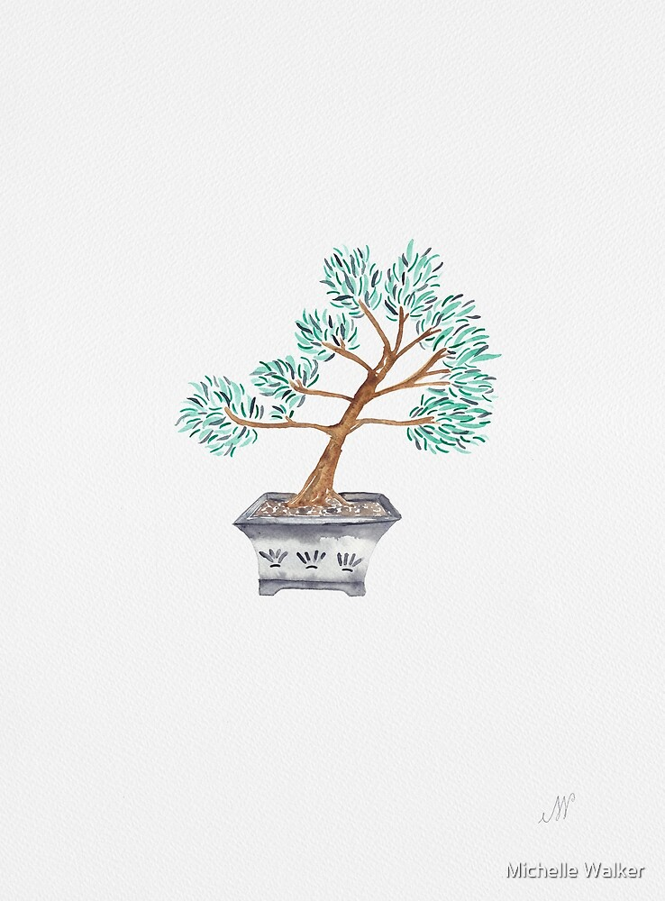 My husband's bonsai 02 by Michelle Walker