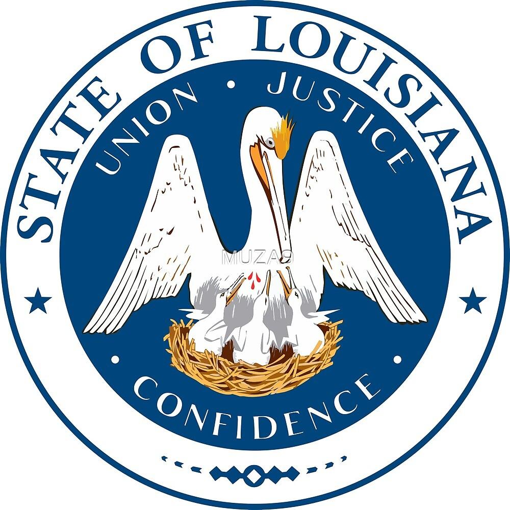Seal of Louisiana by MUZA9