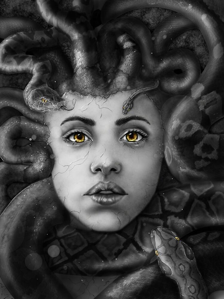 Medusa by drewjamesart
