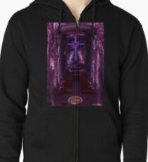 Salt Cathedral in Colombia Zipped Hoodie