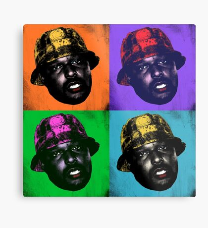 Pop Art Schoolboy Q Metal Print