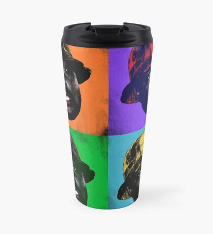 Pop Art Schoolboy Q Travel Mug