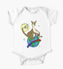Globetrotter Short Sleeve Baby One-Piece