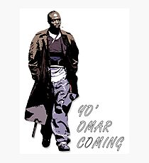 Omar Little Photographic Print