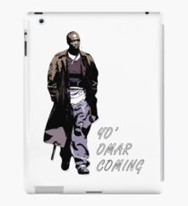 Omar Little iPad Case/Skin