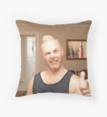 Goldie locks Throw Pillow